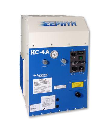 Zephyr Cryocooler Indoor Air Cooled Compressor