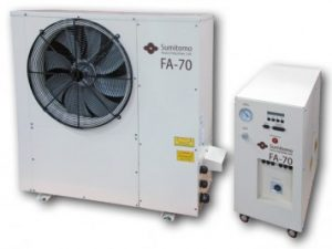 Sumitomo Marathon Helium Compressor FA-70 Air Cooiled