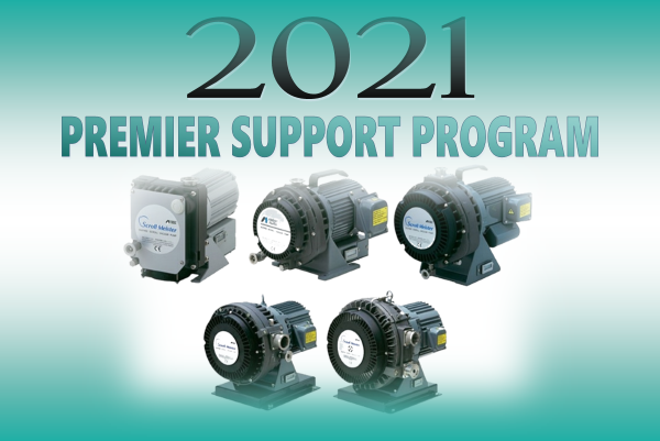 SynSysCo's 2021 Program is for All Anest Iwata Manufactured Pumps