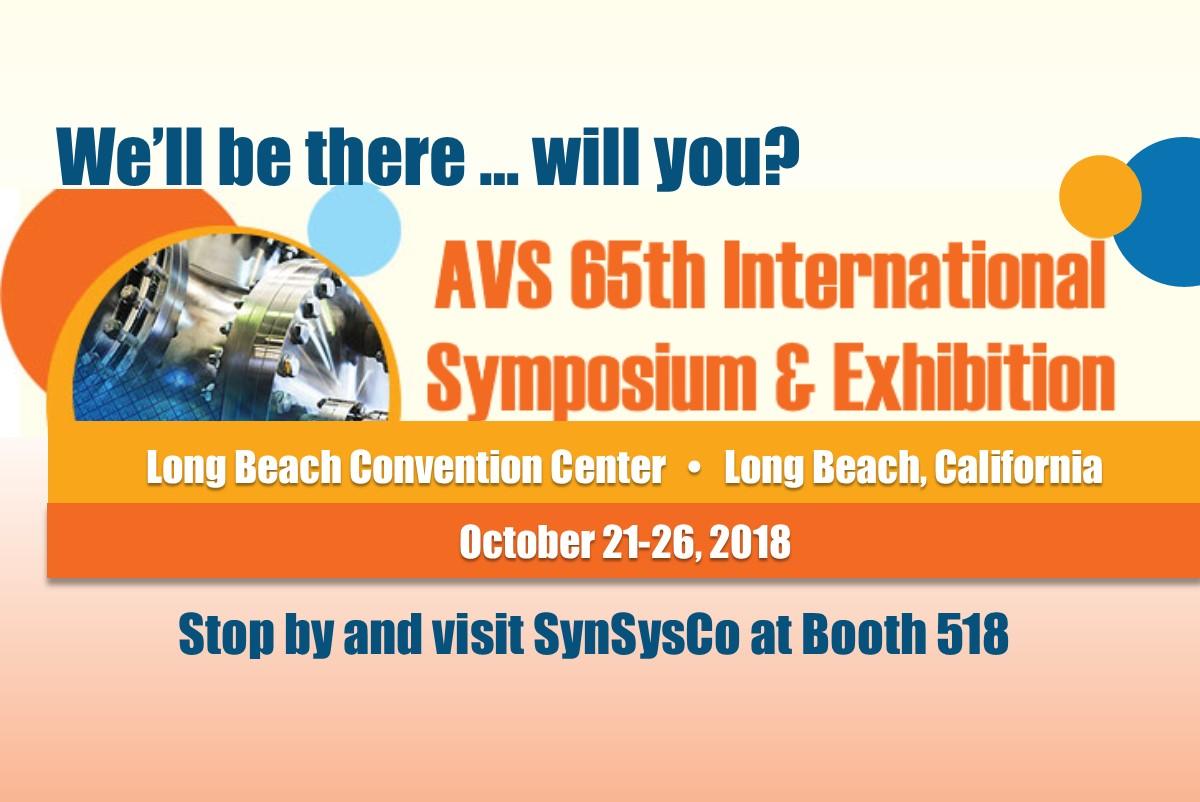 AVS 65th International Symposium & Exhibition