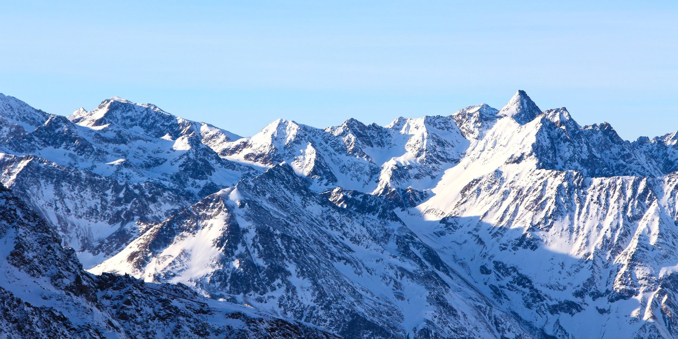Winter Mountains (photo)