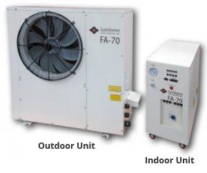 Sumitomo Marathon Helium Compressor FA-70 Air-Cooled Compressors