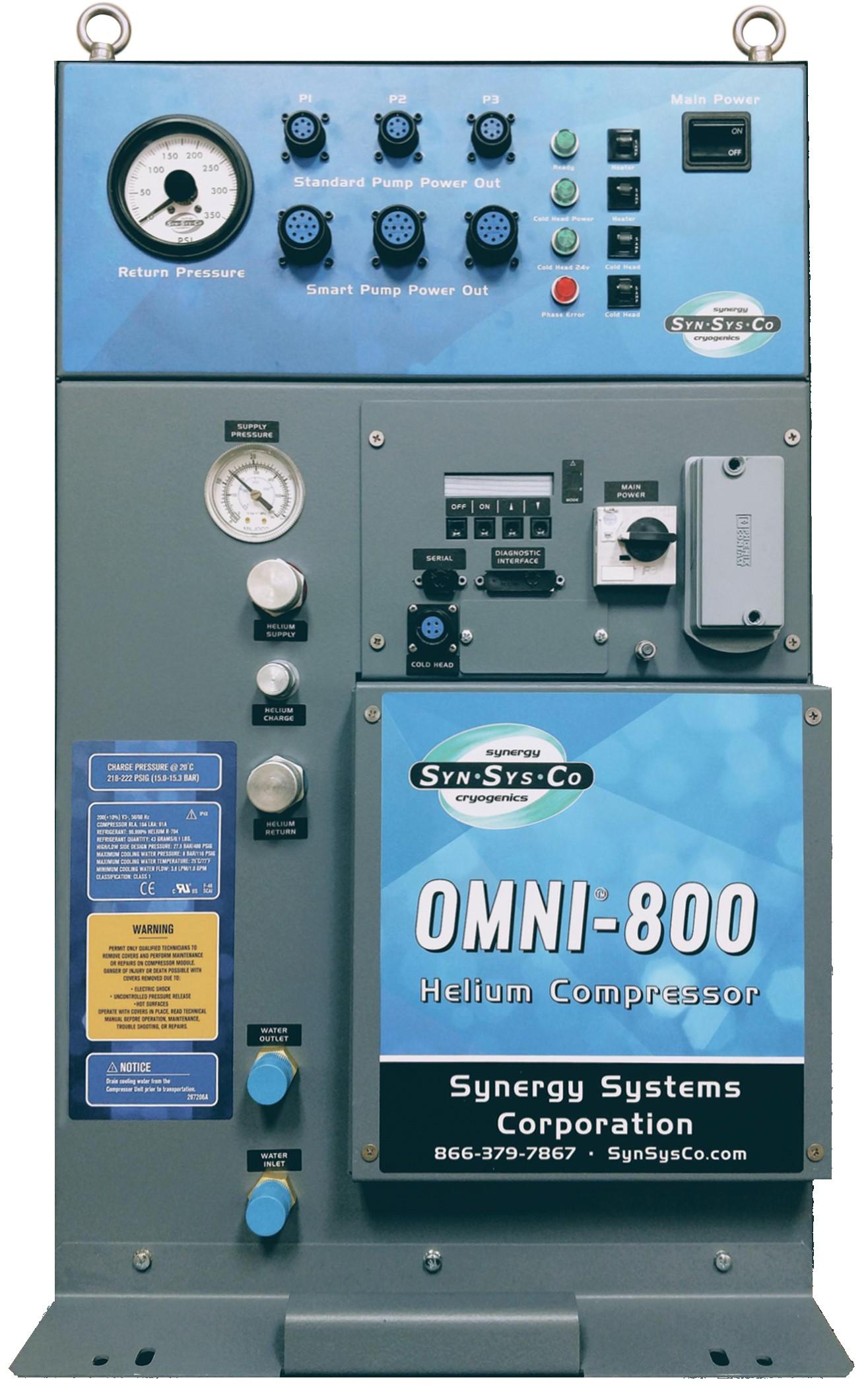 OMNI® 800 Helium Compressor