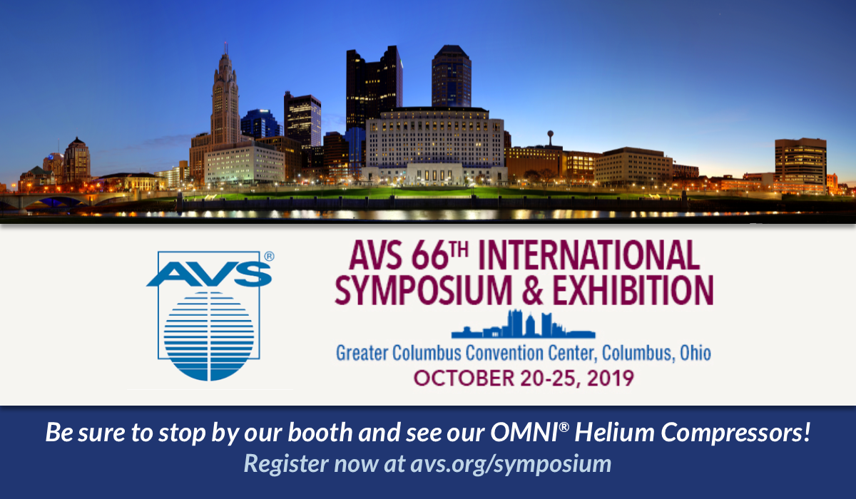 AVS Annual Symposium | October 20-25, 2019